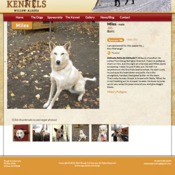 Dog Profile Page